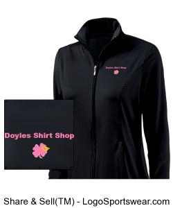 Womens Fitness Jacket by Charles River Apparel Design Zoom